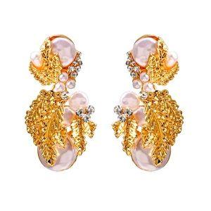 🌈2/$30 New Zara Baroque Pearl Drop Earrings
